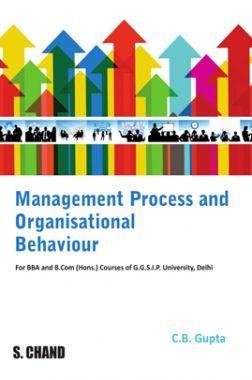 Management Process And Organisational Behaviour