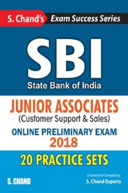 SBI Junior Associate (Customers Support & Sales) Online Preliminary Exam 2018 (Practice Sets)