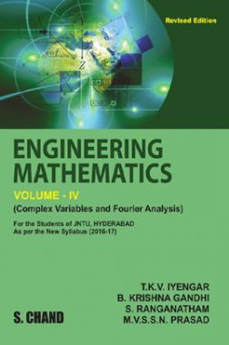 Engineering Mathematics Volume - IV (Complex Variable & Fourier Analysis) (For JNTU, Hyderabad)