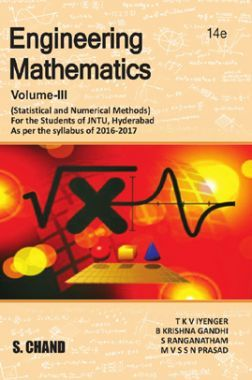 Engineering Mathematics Volume - III (Statistical & Numerical Methods) (For 1st Year - 2nd Semester Of JNTU, Hyderabad)