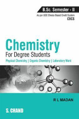 Chemistry For Degree Students B.Sc. Semester-II