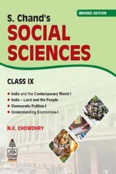 Schand Social Science For Class - IX