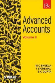 Advanced Accounts Volume - II