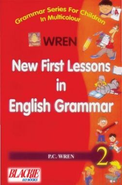 Wren New First Lesson In English Grammar 2