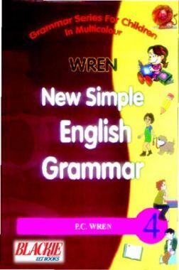 Wren New Simple English Grammar 4