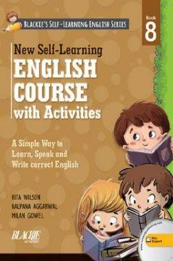 New Self-Learning English Course With Activities Book-8
