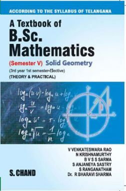 A Textbook of B.Sc. Mathematics Solid Geometry