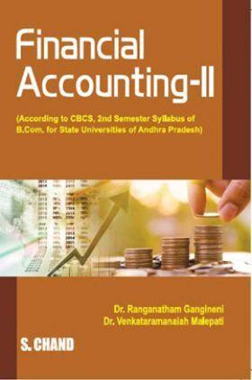 Fundamentals of Accounting  Financial Accounting – II