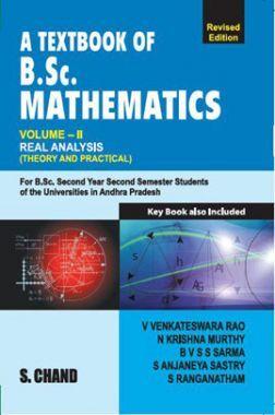 A Textbook of B.Sc Mathematics  Real Analysis Volume-II