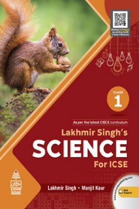 Lakhmir Singh's Science for ICSE Class 1
