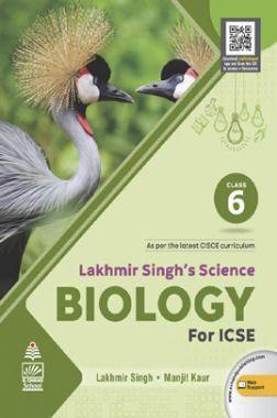 Lakhmir Singh's Science  Biology for ICSE Class 6