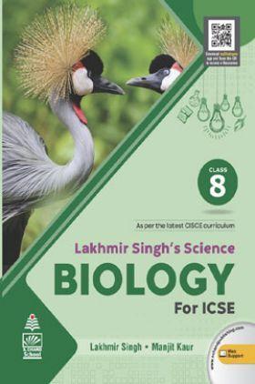 Lakhmir Singh's Science for  Biology ICSE Class  8