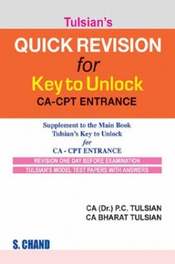 Tulsian Quick Revision For Key To Unlock CA-CPT Entrance