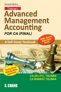 Tulsian's Advanced Management Accounting For CA Final