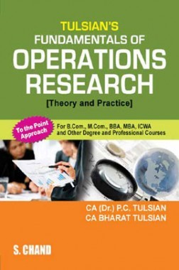 Tulsian's Fundamentals Of Operations Research