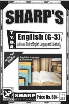 English (Advanced Study Of English Language & Literature)