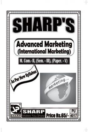 Advanced Marketing (International Marketing)