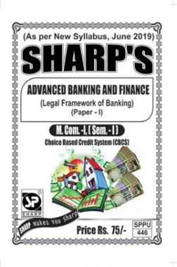 Advanced Banking And Finance (Legal Framework Of Banking)