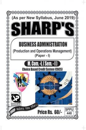 Business Administration Production And Operations Management