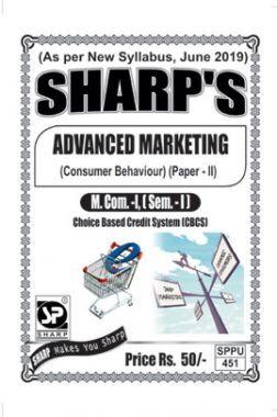Advanced Marketing (Consumer Behaviour)
