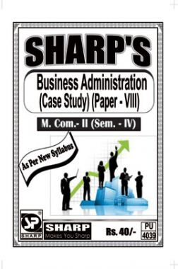 Business Administration (Case Study)