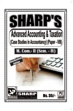 Advanced Accounting And Taxation (Case Studies In Accountancy)