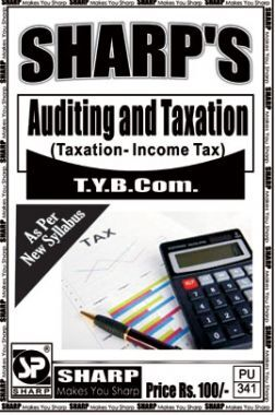 Auditing And Taxation (Taxation - Income Tax)