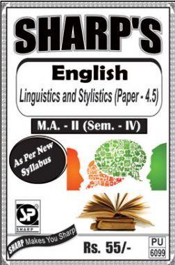 English Linguistics And Stylistics