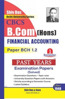 Financial Accounting For B.Com Hons Semester 1 For Delhi University