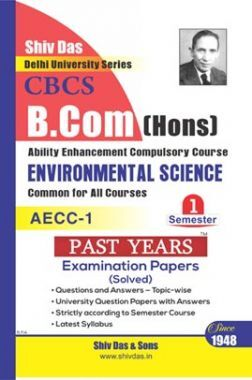 Environmental Science B.Com Hons Semester 1 For Delhi University