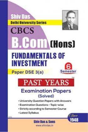 Fundamentals of Investment For B.Com Hons Semester 6 For Delhi University