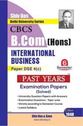 International Business For B.Com Hons Semester 6 For Delhi University