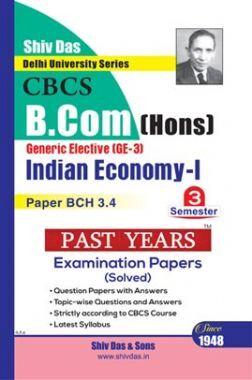 Indian Economy 1 For B.Com Hons Semester 3 For Delhi University