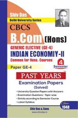 Indian Economy-II For B.Com Hons Semester 4 For Delhi University
