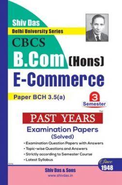 E Commerce For B.Com Hons Semester 3 For Delhi University