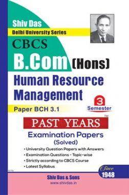 Human Resource Management For B.Com Hons Semester 3 For Delhi University