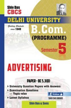 Advertising For B.Com Prog Semester 5 For Delhi University