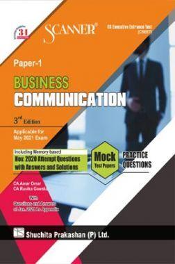 Shuchita Prakashan Model Scanner CSEET Paper - 1 Business Communication