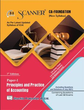 Solved Scanner CA Foundation (New Syllabus) Paper-1 Principles and Practice of Accounting