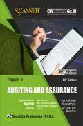 Shuchita Prakashan Solved Scanner CA Intermediate (New Syllabus) Group-II Paper-6 Auditing And Assurance For May 2019 Exam