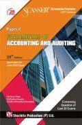Shuchita Prakashan Model Solved Scanner CS Foundation Programme (2017 Syllabus) Paper-4 Fundamentals Of Accounting And Auditing For June 2019 Exam