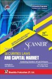 Shuchita Prakashan Scanner CS Executive Programme Module- II (2017 Syllabus) Paper-6 Securities Laws And Capital Market For June 2019 Exam