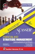 Shuchita Prakashan Scanner CS Executive Programme Module-II (2017 Syllabus) Paper-8 Financial And Strategic Management For June  2019 Exam