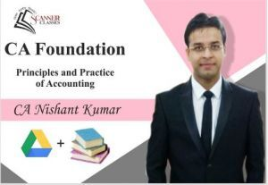 CA Foundation Paper 1 Principles and Practice of Accounting (Google Drive + Printed Book)