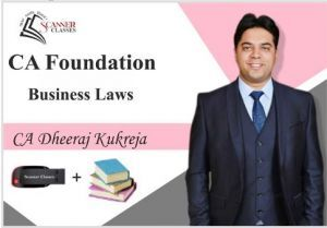 CA Foundation Paper 2A Business Laws (Pen Drive + Printed Book)