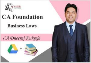 CA Foundation Paper 2A Business Laws (Google Drive + Printed Book)