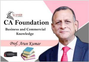 CA Foundation Paper 4B Business Commercial Knowledge (Pen Drive + Printed Book)