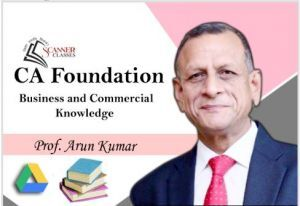 CA Foundation Paper 4B Business Commercial Knowledge (Google Drive + Printed Book)