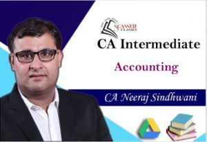 CA Intermediate Paper 1 Accounting (Google Drive + Printed Book)