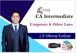 CA Intermediate Paper 2 Corporate and Other Laws (Pen Drive + Printed Book)